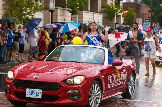 Ottawa Capital Pride makes Charlie youngest Grand Marshal, 2016.