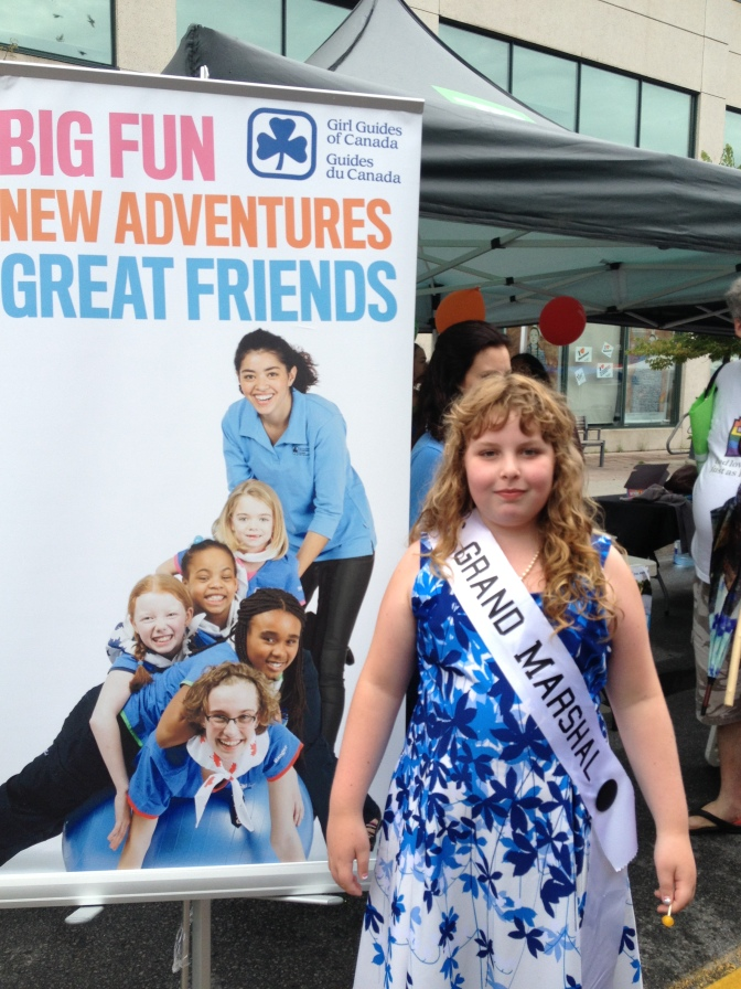 Charlie and Girl Guides of Canada